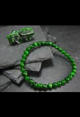 Bracelet -Chrome Diopside  - 5mm