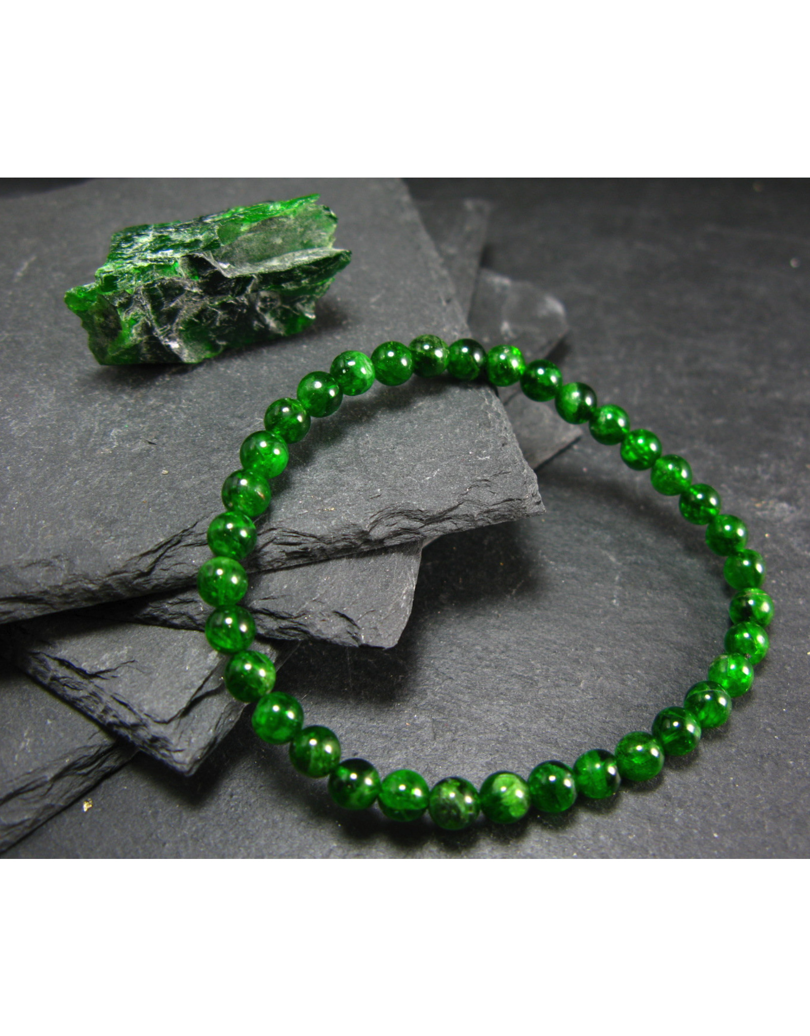 Chrome Diopside Bracelet - 5mm