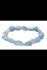 Aquamarine Tumbled Bracelet
