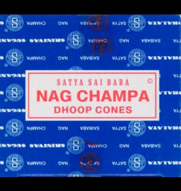 Nag Champa Incense Box - Cones