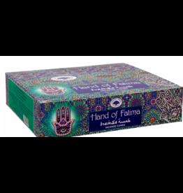 Hand of Fatima Incense Box - Cones
