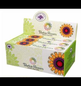 Tibetan Flowers Incense Box - Sticks