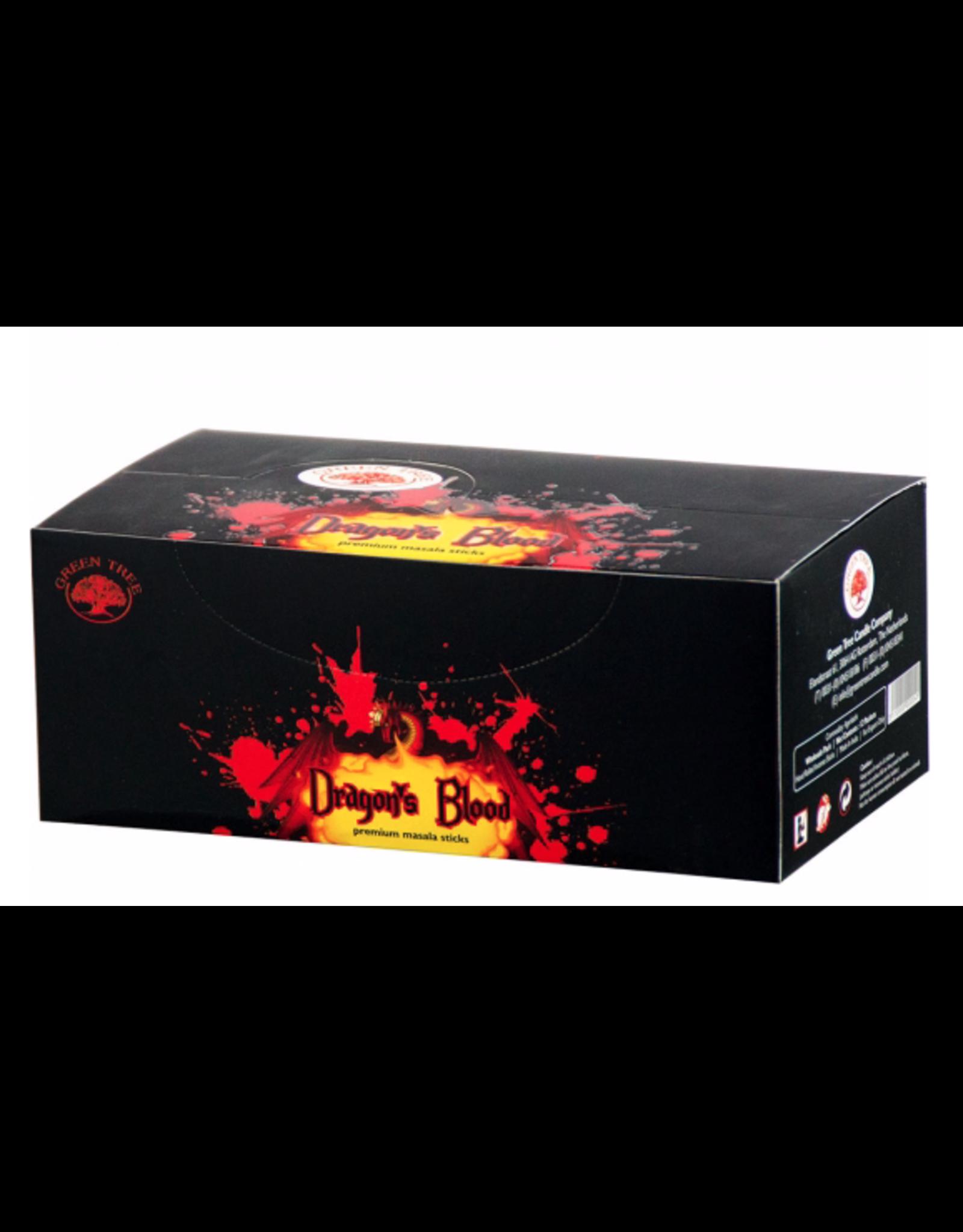Dragon's Blood Incense Box - Sticks