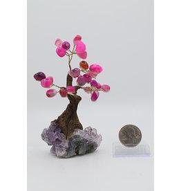 Medium Pink Agate Tree