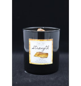 Strength Candle - Tiger Eye