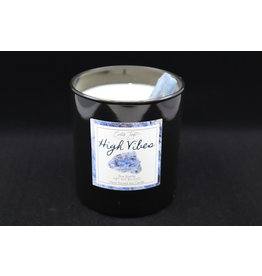 High Vibes Candle - Blue Kyanite
