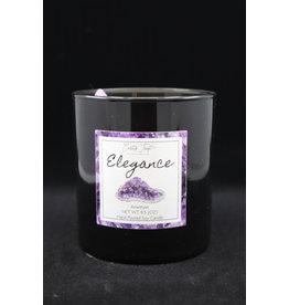 Elegance Candle - Amethyst