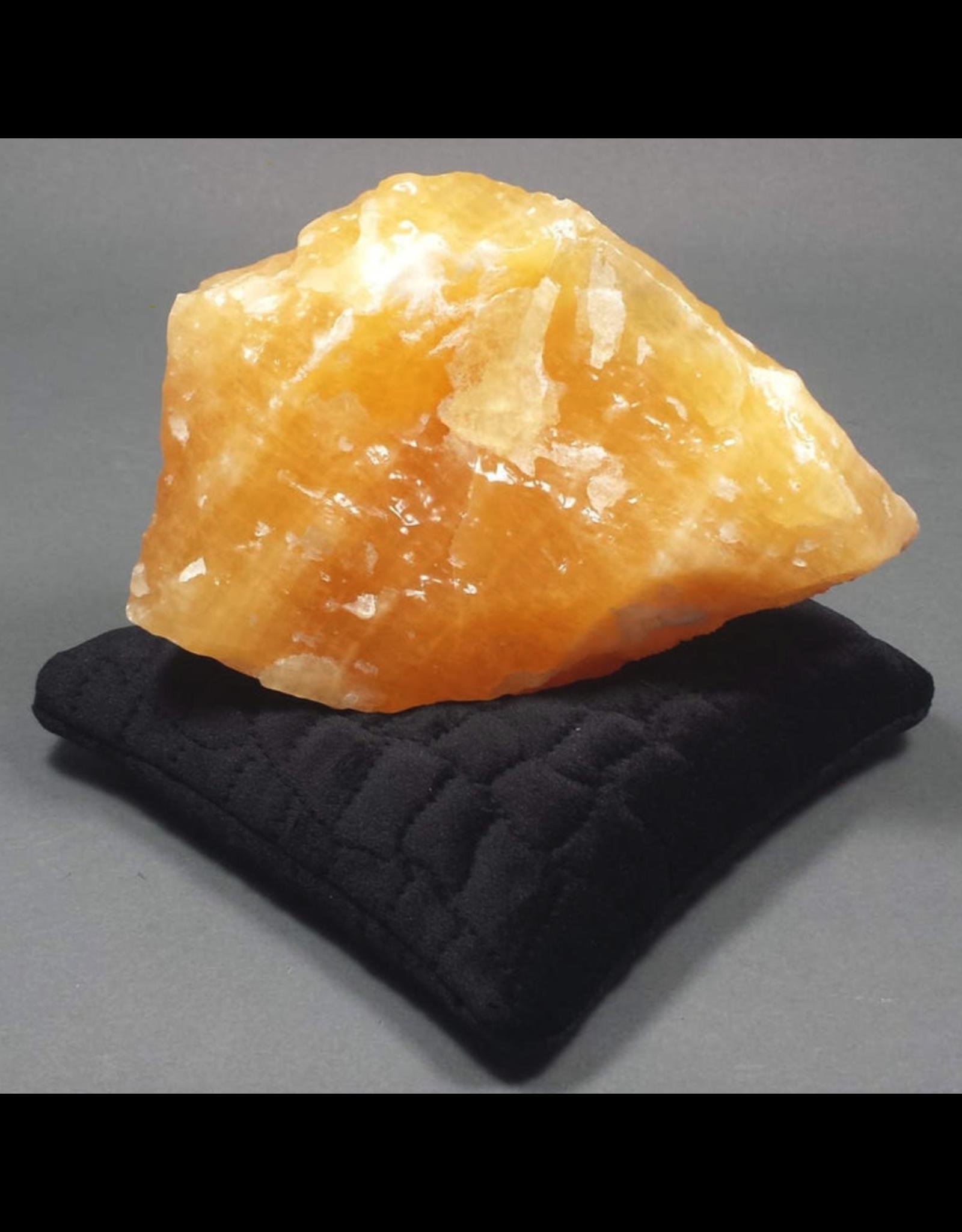 Black Velvet Crystal Pillow - Small