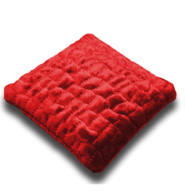 Red Velvet Crystal Pillow - Small