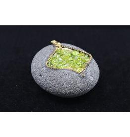 Zipper Rock #2 - Peridot