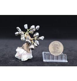 Small Hematite Tree on Amethyst
