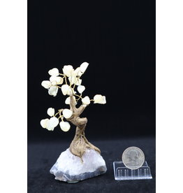 Medium Citrine Tree on Amethyst