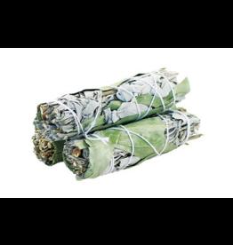 """Eucalyptus White Sage Stick - 4"""""""