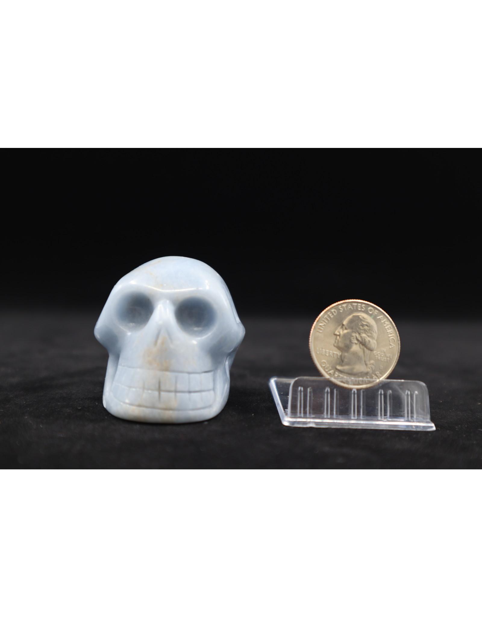 Angelite Skull