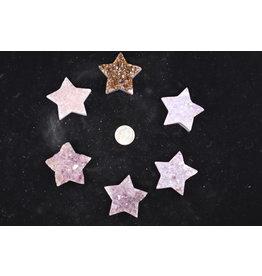 Amethyst Druzy Star