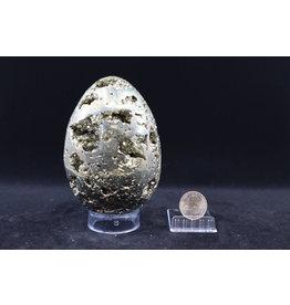Pyrite Egg - XL