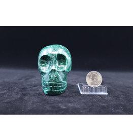 Malachite Skull - XL #2