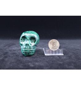Malachite Skull #1