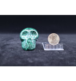 Malachite Skull #2