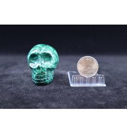 Malachite Skull #3