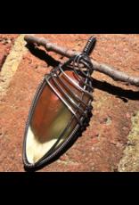 Common Opal Amulet Pendant