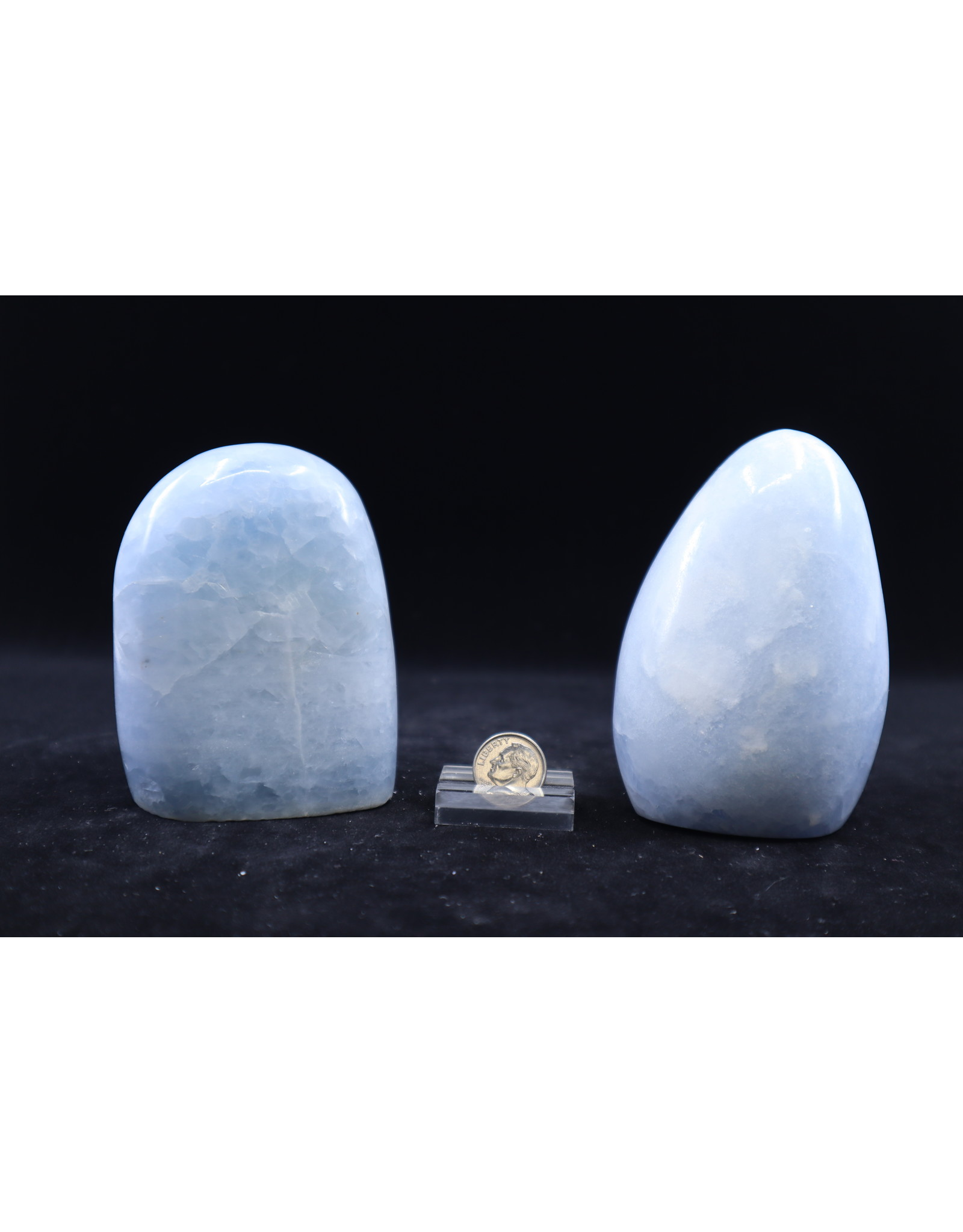 Blue Calcite Polished