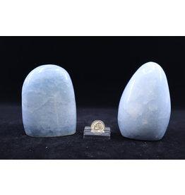 Blue Calcite Polished