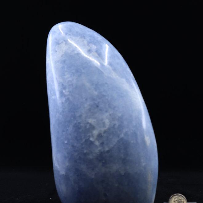 Blue Calcite Polished Free Form
