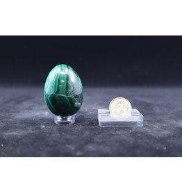 Malachite Egg - Medium