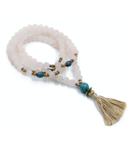 Silver & Sage -Inspiration of the Heart Mala