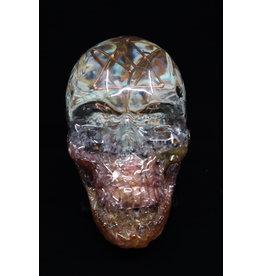 Pink Orgonite Skull