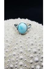 Larimar Ring - Size 7