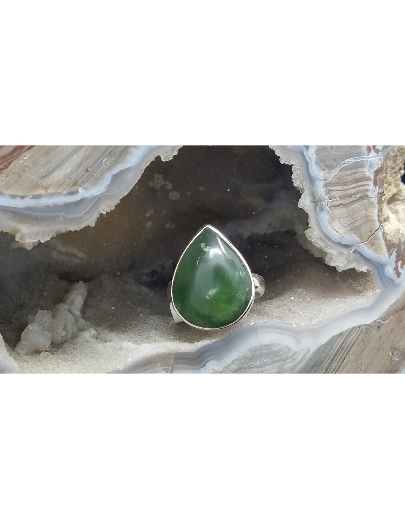 Jade Ring - Size 7