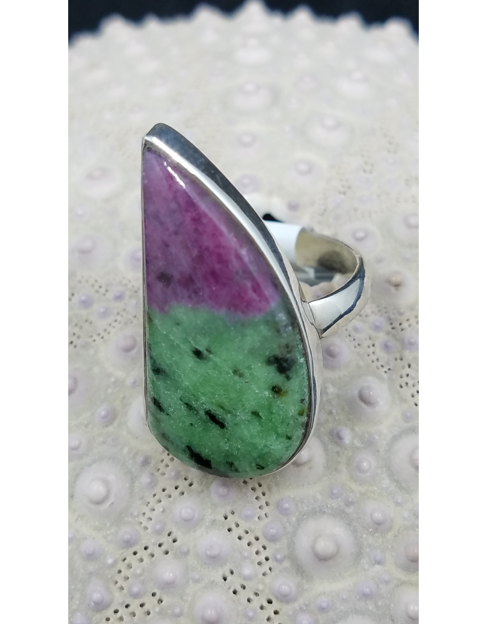 Ruby Zoisite Ring - Size 7