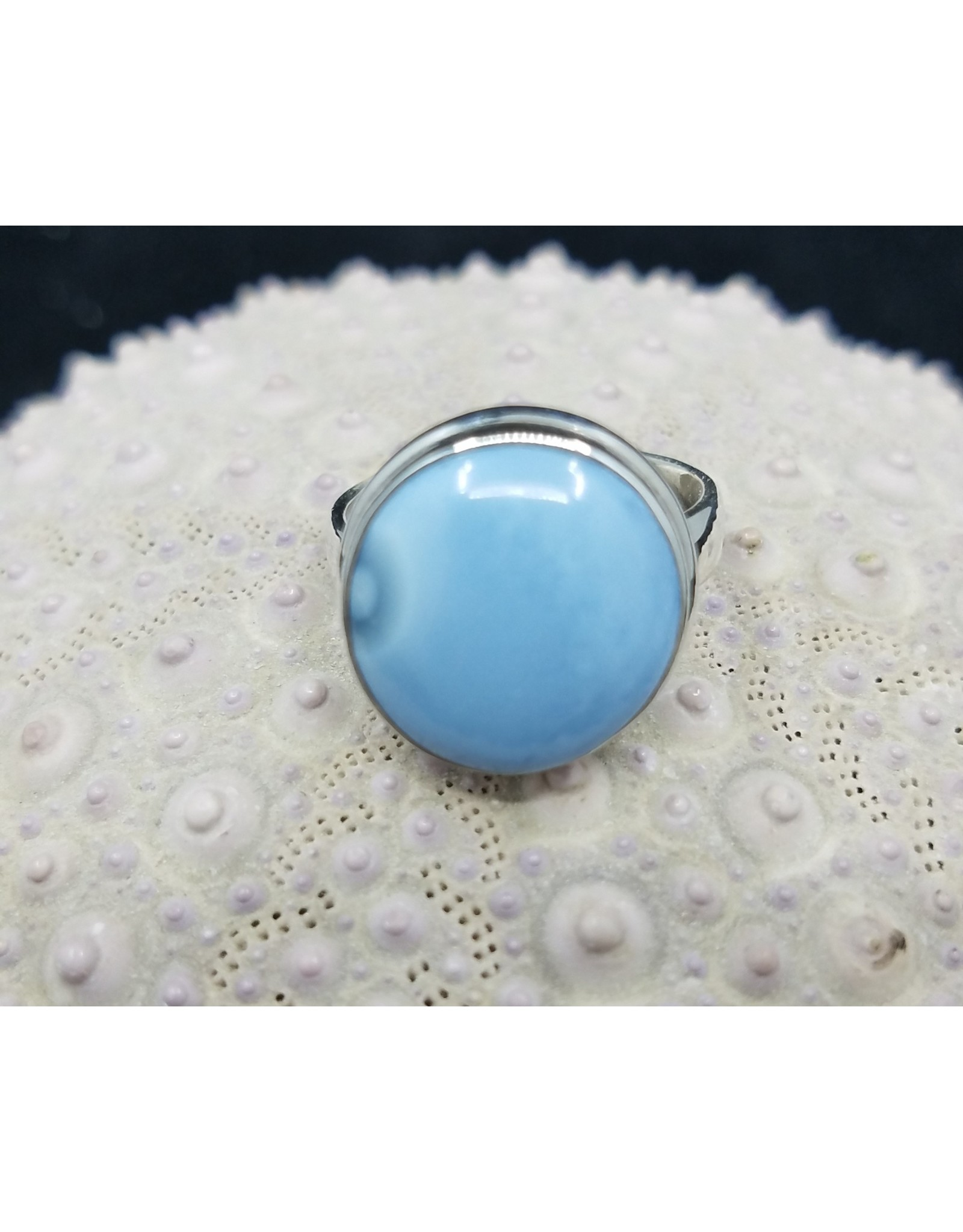 Blue Opal Ring - Size 7