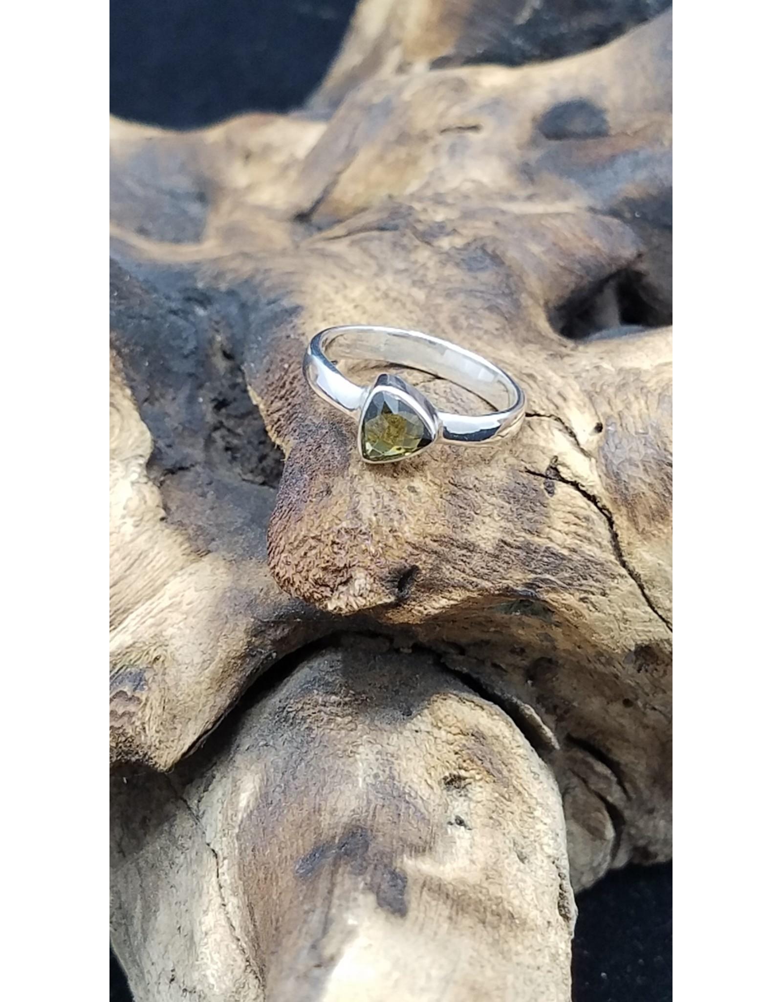 Moldavite Ring - Size 7