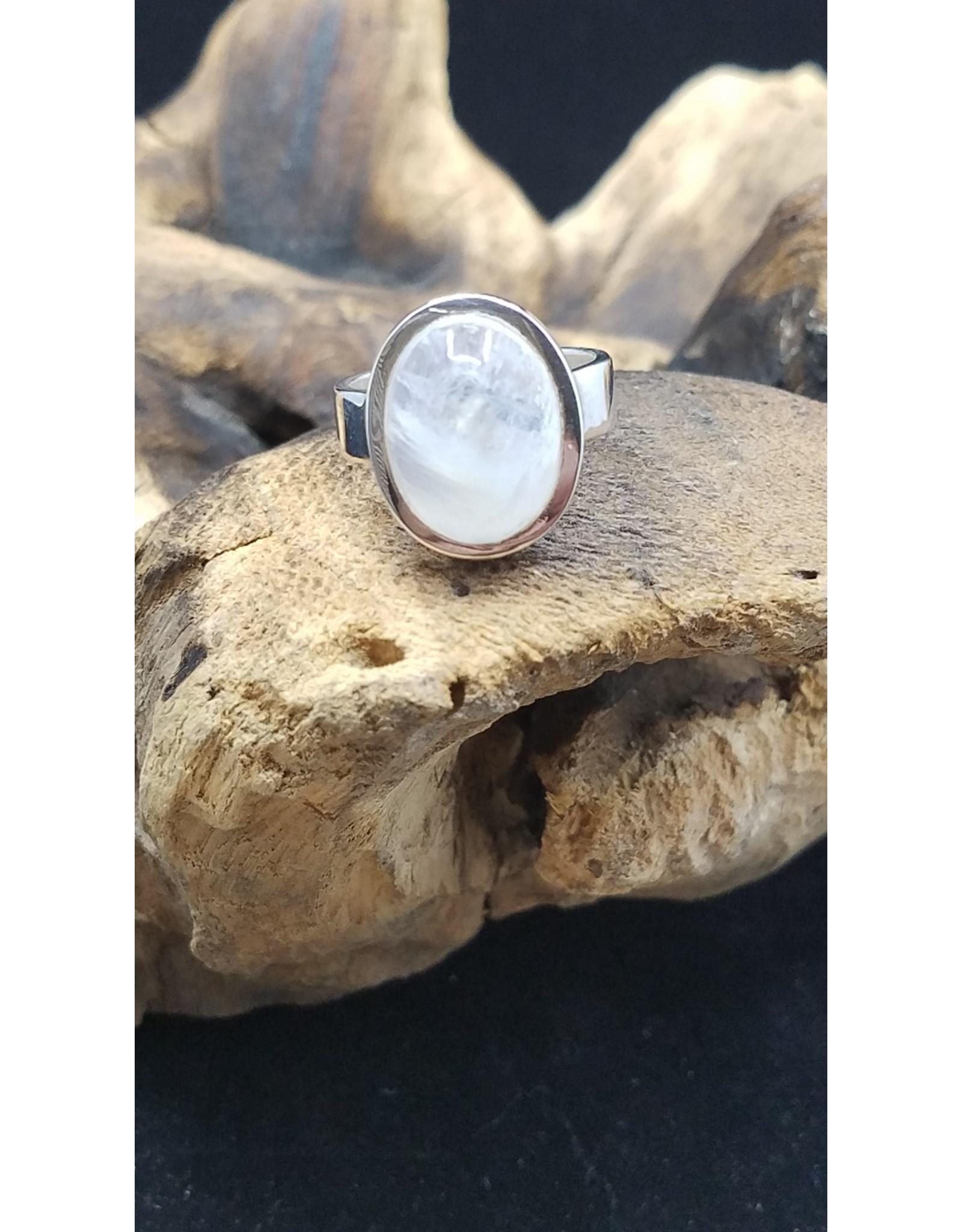 Moonstone 2 Ring - Size 7