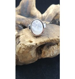 Moonstone 2 Ring - Size 7