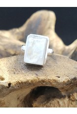 Moonstone 3 Ring - Size 7