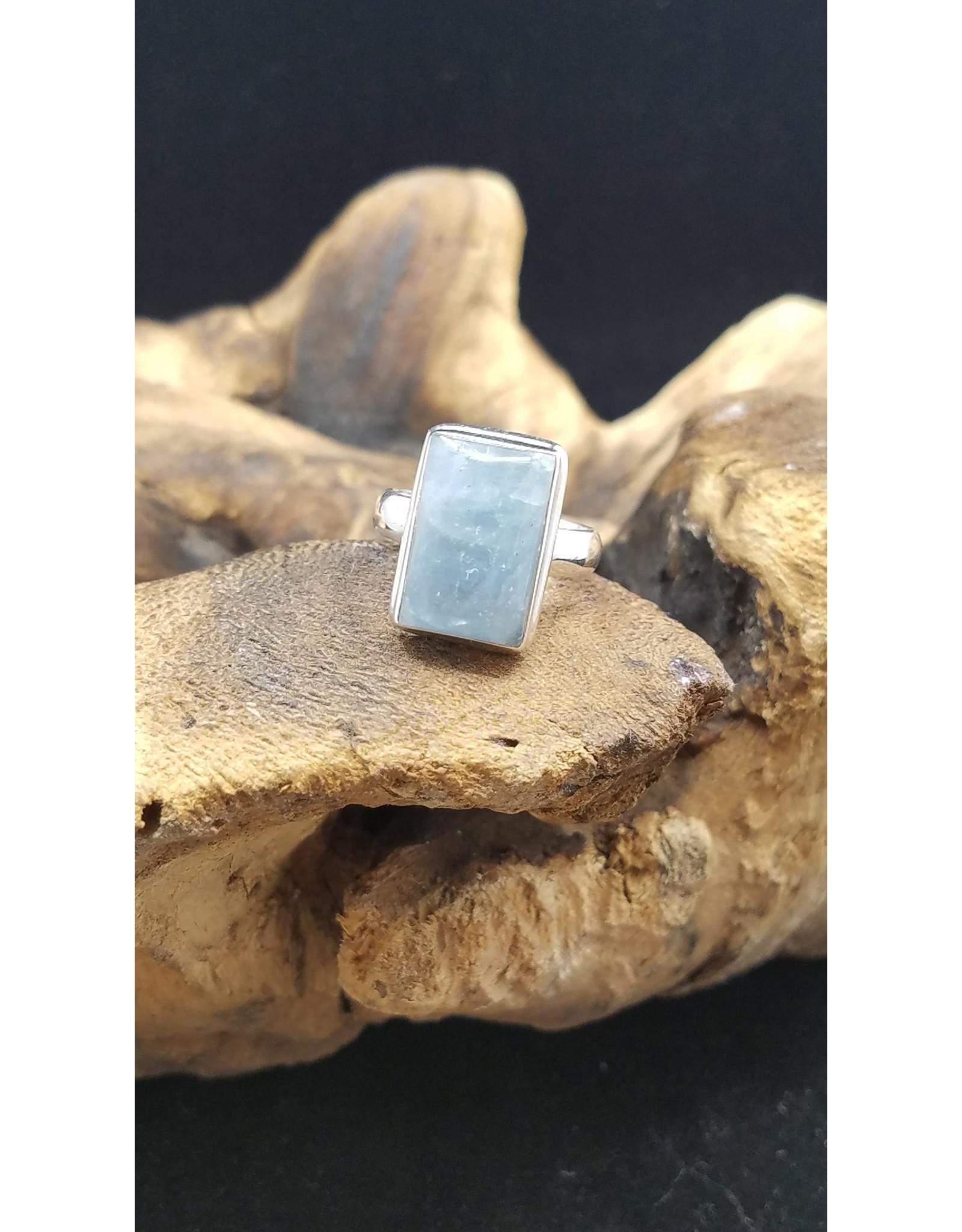 Aquamarine Ring - Size 7