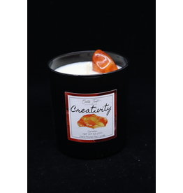 Creativity Candle - Carnelian