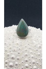 Bloodstone Ring - Size 6