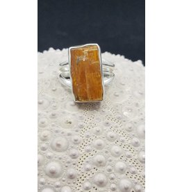 Orange Kyanite Ring - Size 7