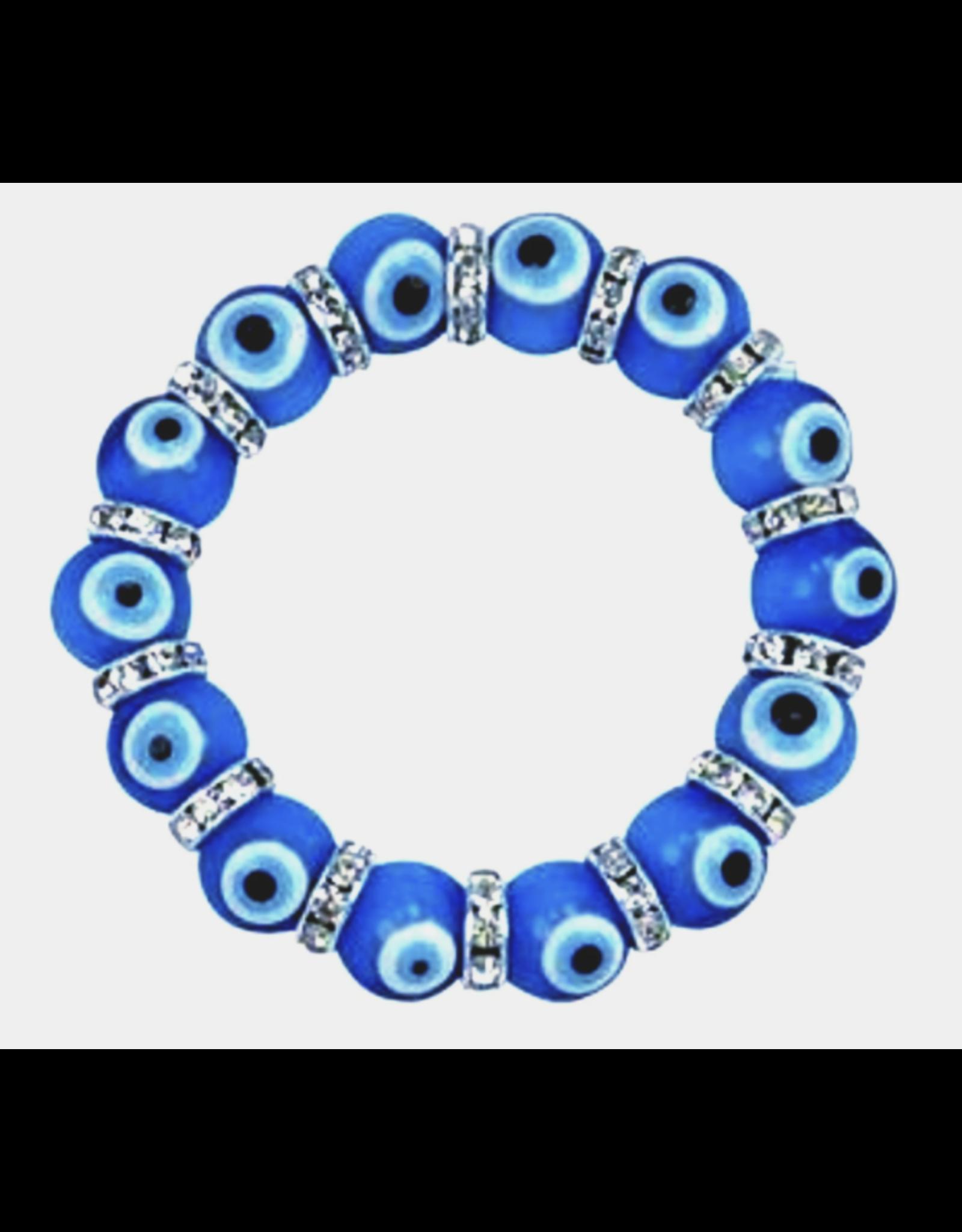 Evil Eye Bracelet - Dark Blue