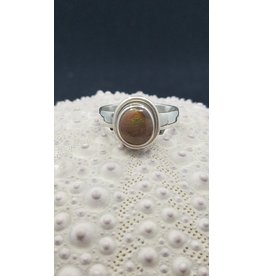 Fire Opal Ring - Size 6.5