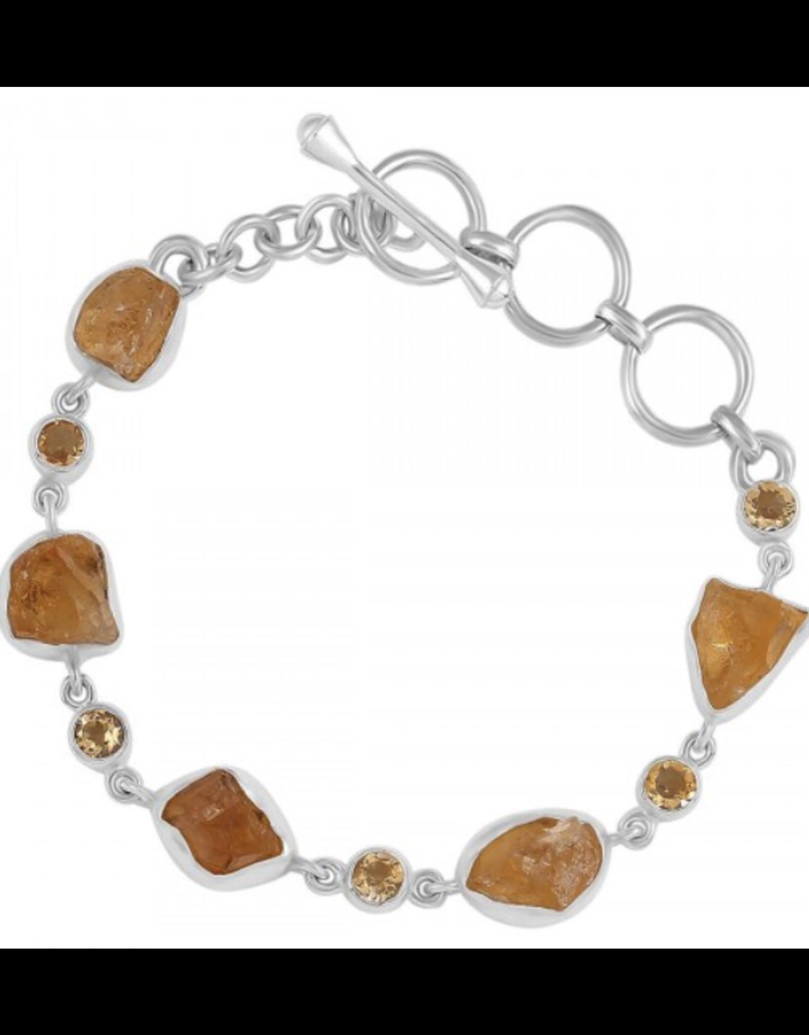 Citrine Rough Bracelet