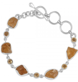 Citrine Rough Bracelet