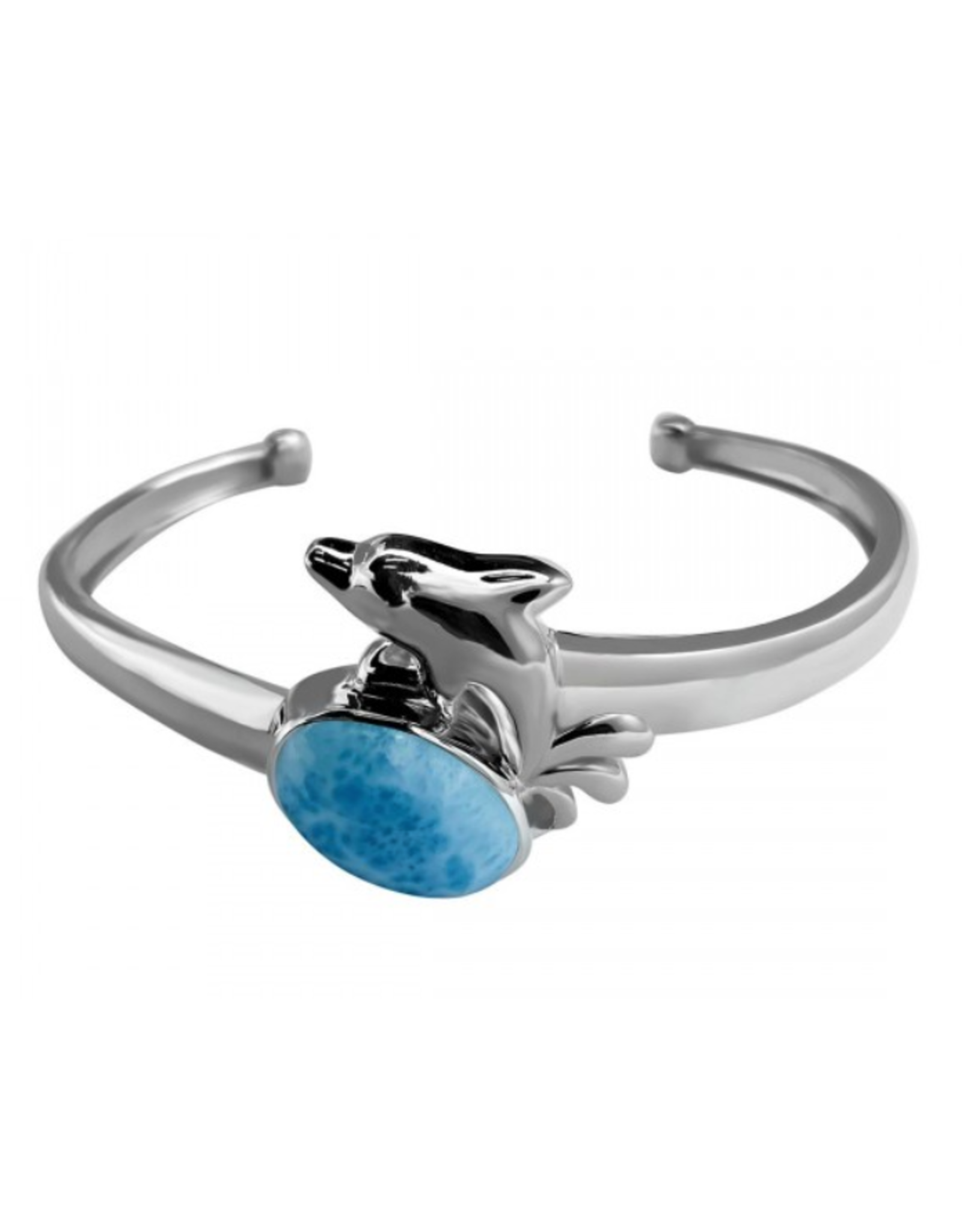 Larimar Cuff Bracelet - Adjustable