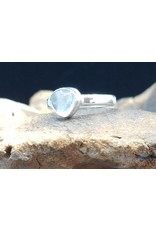 Aquamarine Ring - Size 6.5