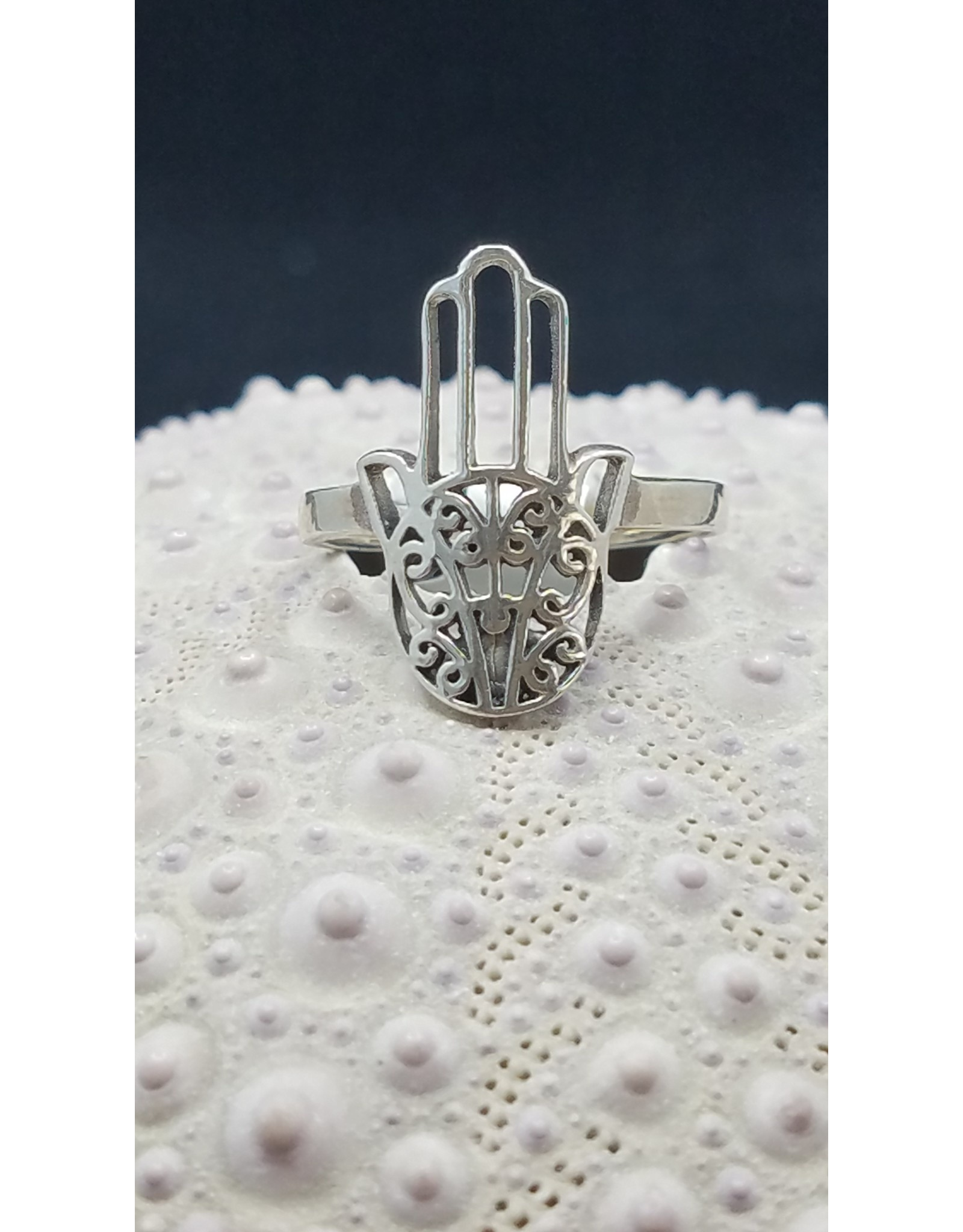 Hamsa Hand Ring - Size 6.5